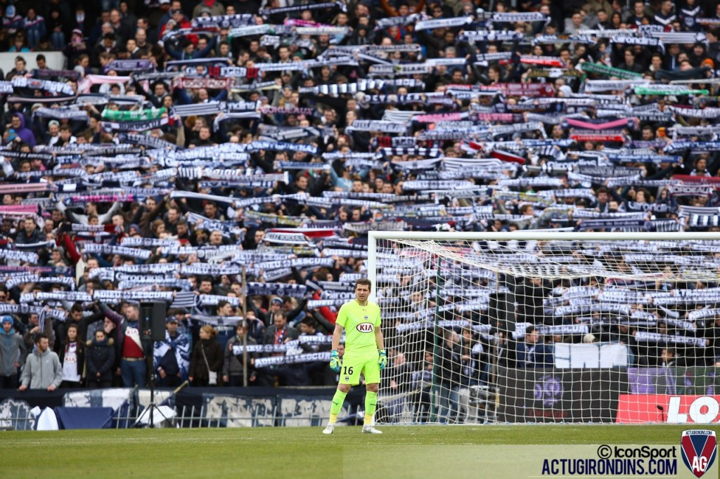 Supporters Bordeaux - Cédric Carrasso