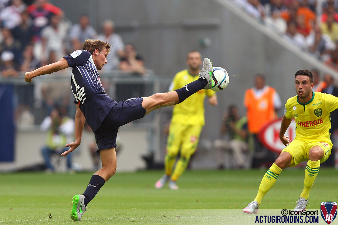 Clement Chantome (30.08.2015 - Bordeaux  / Nantes  - 4eme journee de Ligue 1)