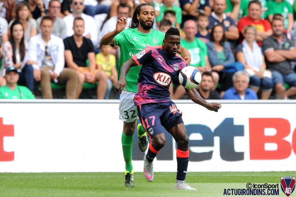 Andre BIYOGO POKO (15.08.2015 - Saint Etienne / Bordeaux - 2e journee Ligue 1)