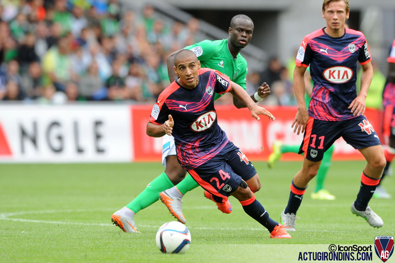 Wahbi KHAZRI (15.08.2015 - Saint Etienne / Bordeaux - 2e journee Ligue 1)