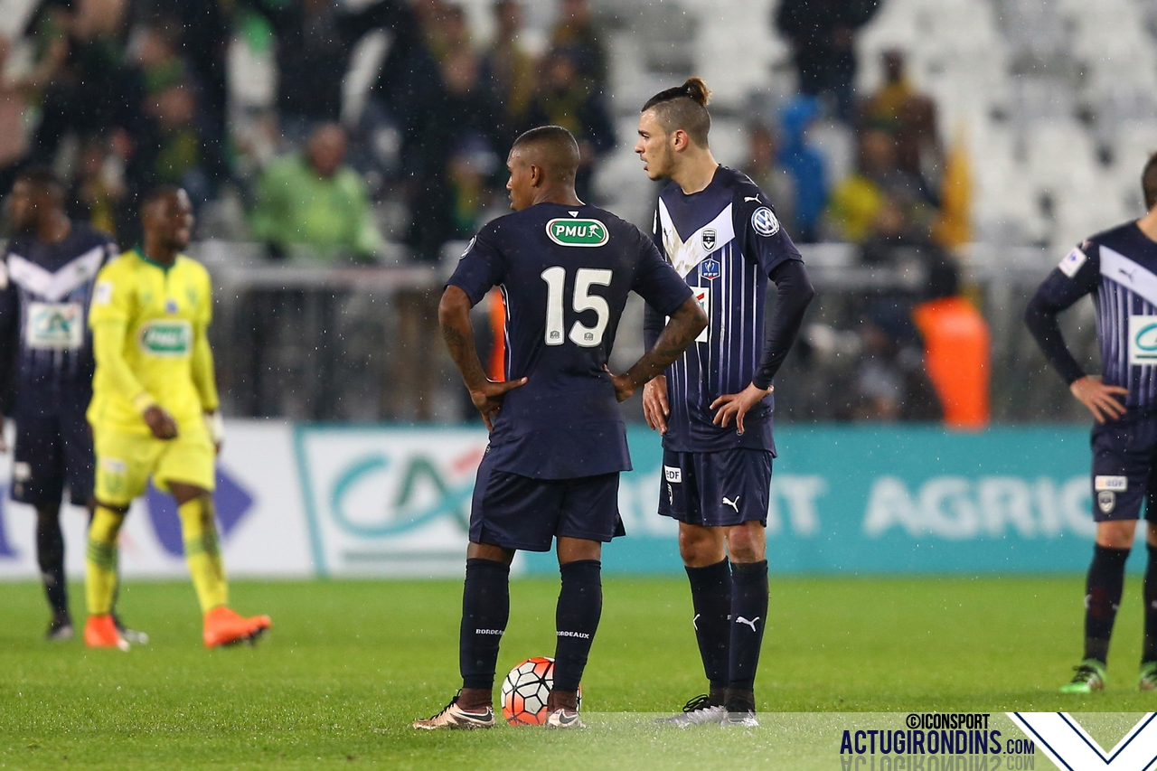 Deception Malcom / Hazem Haj Hassen (10.02.2016 - Bordeaux / Nantes - 1/8Finale Coupe de France)