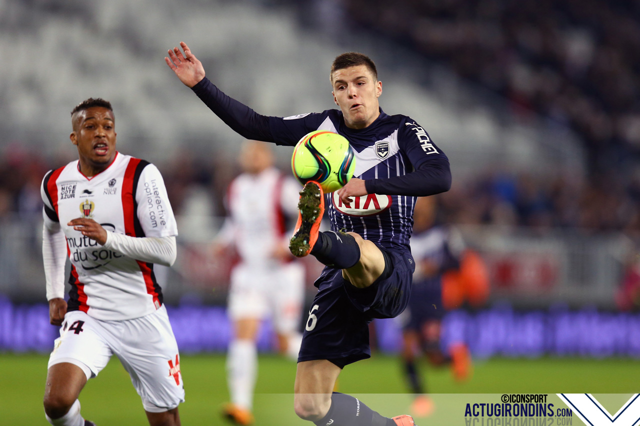 Frederic Guilbert - (19.02.2016 - Girondins Bordeaux / OGC Nice - 27eme journee de Ligue 1)