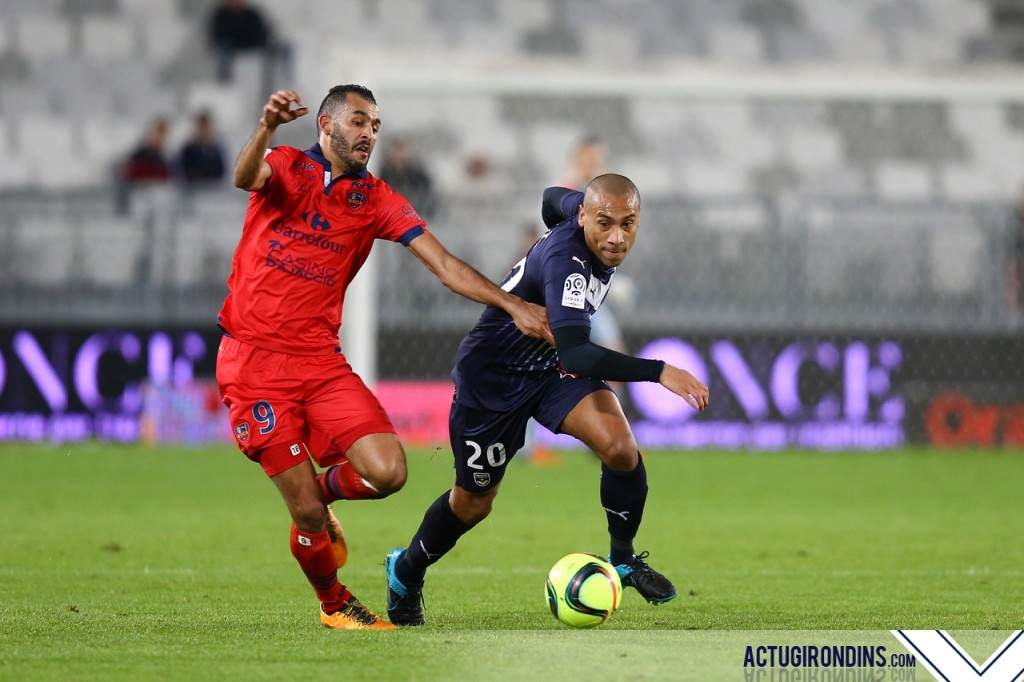 Jussiê (05.03.2016 - Girondins de Bordeaux - GFC Ajaccio 29eme journee de Ligue 1)