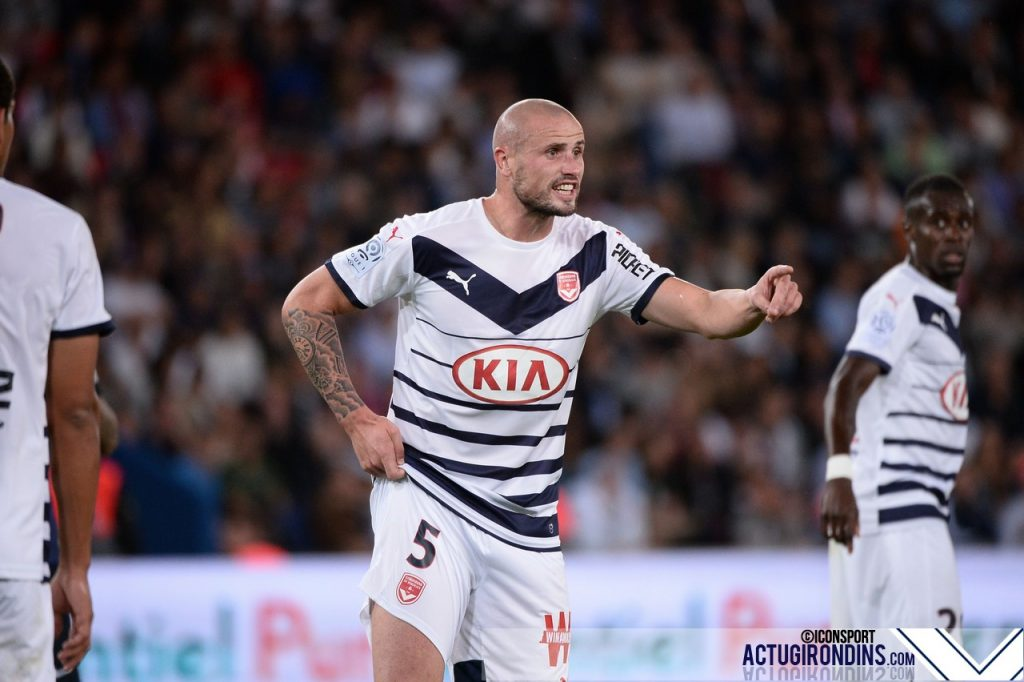 Nicolas PALLOIS (11.09.2015 - PSG / Bordeaux - 5eme journee Ligue 1)