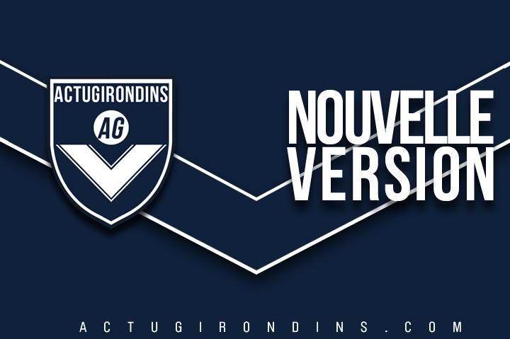 Nouvelle version du site ACTUGIRONDINS.COM