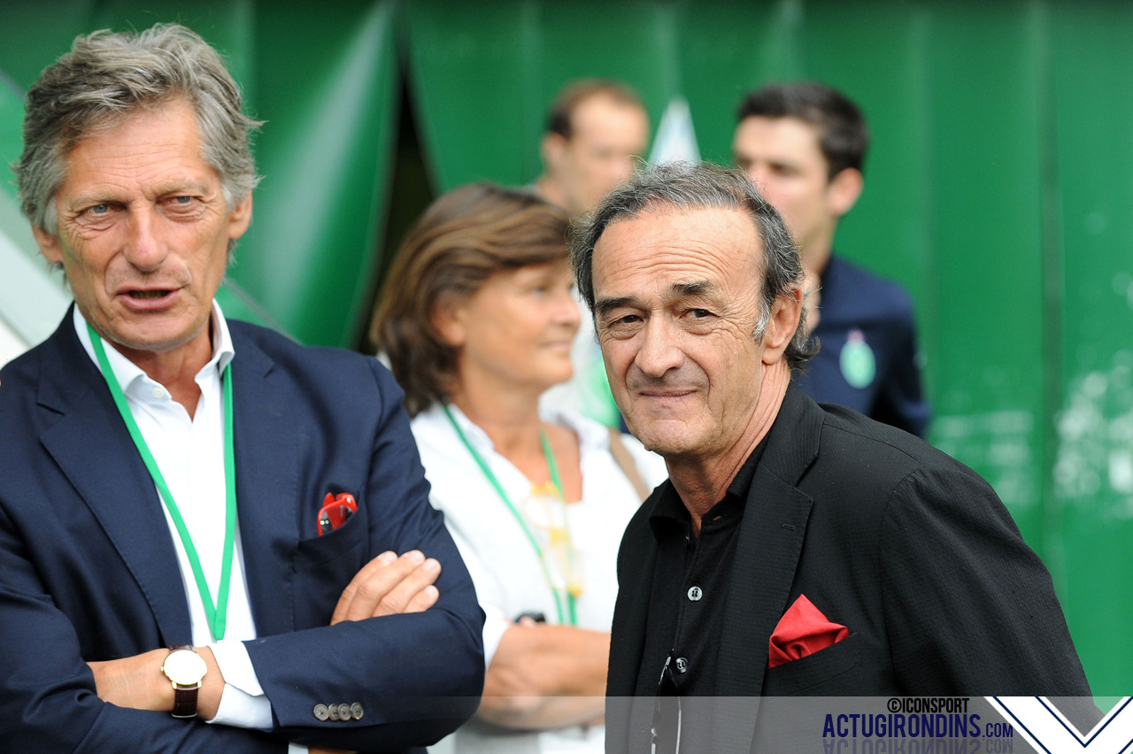 Nicolas de TAVERNOST / Jean Louis TRIAUD (15.08.2015 - Saint Etienne / Bordeaux - 2e journee Ligue 1)